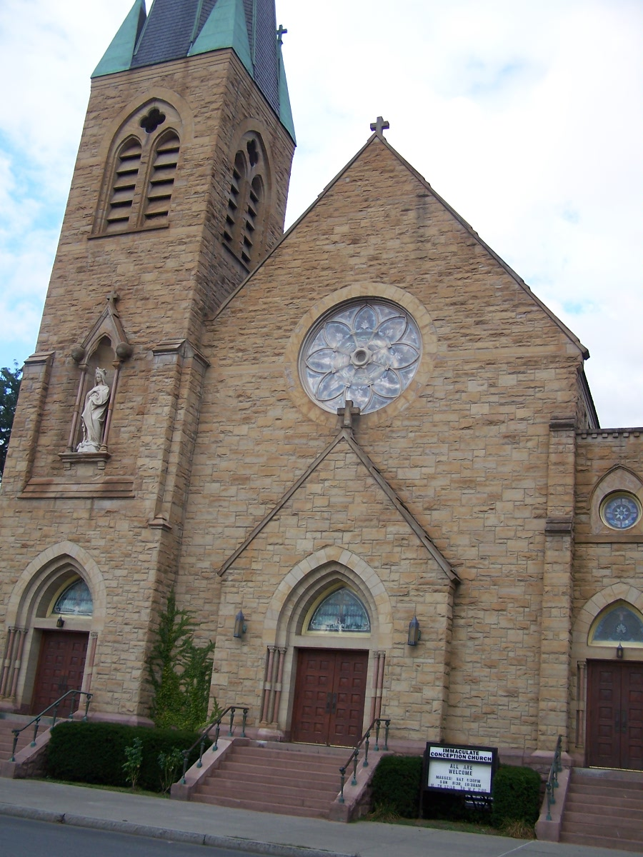 local history ithacating in cornell heights the immaculate conception church is a catholic church in ithaca that falls under the archdiocese in rochester the building was constructed in 1898 and